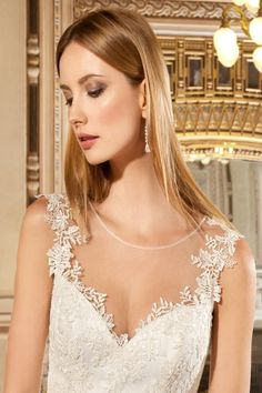 Wedding gown by Sensualle by Demetrios