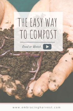 When I started gardening, I wanted to start composting so I could be more self-sufficient. If you want the easiest way to compost, learn why a compost tumbler is the best option. A fully sealed container which can be rotated to mix the composting materials. These were invented to make composting simpler and faster. I still use other composting methods, but I believe this is the easiest option for beginner gardeners. #gardening #composting #composttumbler #compostingmaterials #compostingmethods Composting Methods, Composting At Home, Worm Composting, Sustainable Gardening, Vegetable Gardening, Organic Gardening, Gardening For Beginners, Gardening Tips, Compost Tumbler