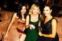 the ladies of Parks and Rec
