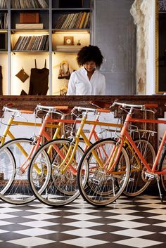 Add a pop of color to dad's exercise routine with a bike ($875) from Ace Hotel's collaboration with Tokyobike. Options include green, blue, gold and orange.
