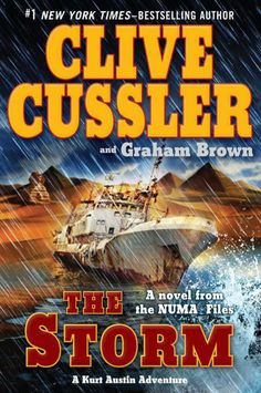 Clive Cussler - The Storm Just finished... Excellent book