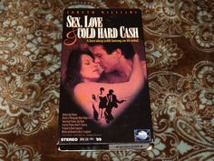 Sex, Love and Cold Hard Cash (VHS, 1993) OOP MCA w/JoBeth Williams! *NOT ON DVD*
