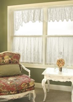 """""""Floret"""" 2 Pairs Swag, Curtains from Heritage Lace - Expressions of Home"""