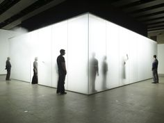 Blind Light by Antony Gormley