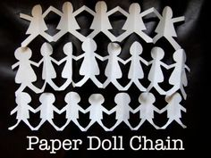 Cool project from http://www.kiwicrate.com/projects/Paper-Doll-Chain/523: Paper Doll Chain