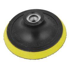 "100mm+4""+Dia+Angle+Grinder+Sanding+Polishing+Hook+&+Loop+Velcro+Backing+Pad+db"