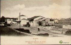 Estação de Olhão em 1931