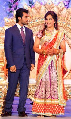 Ram Charan Teja married Upasana Kamineni on the morning of June 14 at the Kamineni farmhouse in Hyderabad.