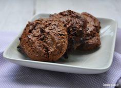 Recette sans gluten / sans oeuf / sans lait /sans sucre : biscuits au chocolat