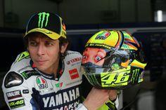PIC: Valentino Rossi's Sepang MotoGP test helmet