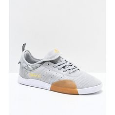 Pushing the boundaries of skate-focused sneakers, adidas unveils their brand new Shoes, part of the brand's signature footwear franchise. Adidas Shoes, Adidas Men, Mens Clothing Brands, Men Sneakers, Black Granite, Men's Footwear, Profile Design, Custom Shoes, Adidas Stan Smith