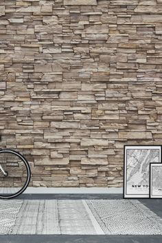 Light brick Wall Mural - Wallpaper