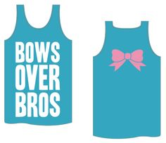 "Kiss My Southern Sass - Bows Over Bros Tank, $20.00 Use discount code ""@Harriet Galloway Pearls & Curls"" at checkout!"