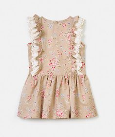 Floral print ruffle dress Dresses Girl Kids (2-6 years) | LANIDOR.COM - Mobile Shop Online