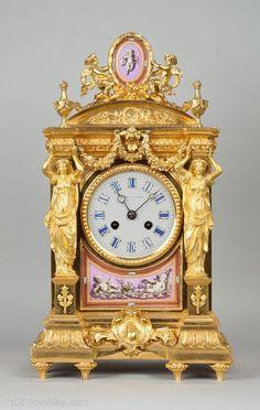 Antique Clocks : Antiques Atlas – Howell And James Mantel Clock More -Read More – - #Clocks