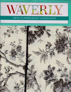 Waverly Tablecloth For Every Occasion   Bed Bath And