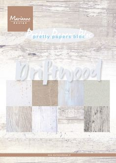 Marianne Design - Paperpack - Pretty Papers - Driftwood