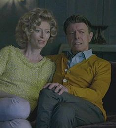 "edwena: "" mrgolightly: "" David Bowie and Tilda Swinton play husband and wife in his new video for The Stars (Are Out Tonight). There will never be anything greater than this. "" """