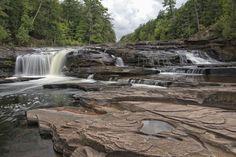 MI all day waterfall trip