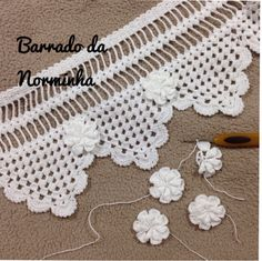 WORKSHOP BARRED Crochet Boarders, Crochet Lace Edging, Crochet Stitches Patterns, Doily Patterns, Crochet Designs, Crochet Doilies, Crochet Flowers, Knitting Patterns, Crochet Stars