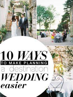 10 destination wedding tips and tricks