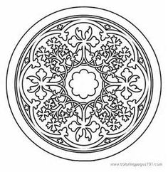 Buddhist Mandala Coloring Pages - Bing Images