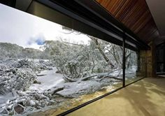 """Take a look at this view! House is called """"Under the Moonlight"""", in Dinner Plain, Victoria overlooking Mount Hotham."""