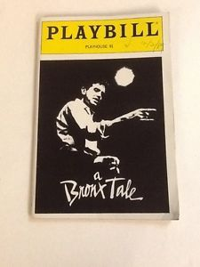 Chazz Palminteri wrote and starred in The Bronx Tale. I loved this show, when I saw it! ⭐