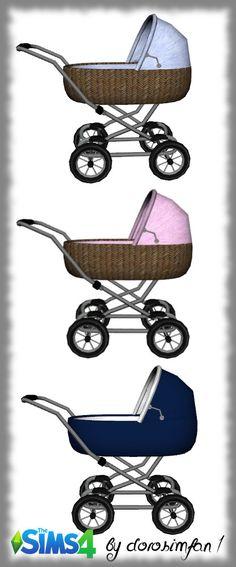 Baby carriage by dorosimfan1 at Sims Marktplatz • Sims 4 Updates