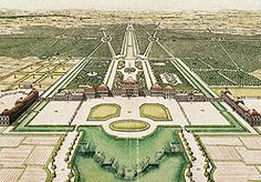 Picture: Nymphenburg Palace and Park, J.A. v. Zisla, around 1723