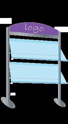 Free-standing Brochure Displays - Landscape Leaflet Display New ! Brochure Stand, Brochure Display, A4, Flooring, Landscape, Free, Home Decor, Scenery, Decoration Home
