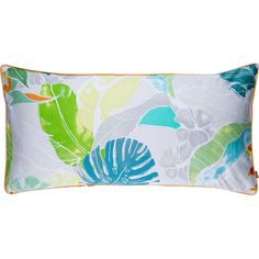 Crafted from cotton and featuring an exotic leaf design, this cushion cover infuses colour and pattern into your bedroom scheme. Prod...