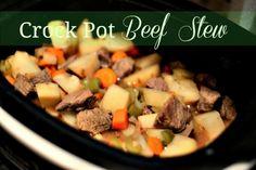 Crock Pot Beef Stew Recipe | Lifetime Moms