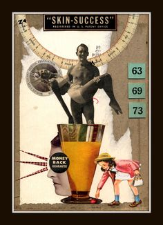 Mixed Media Collage 127 by GregPDX.deviantart.com on @DeviantArt