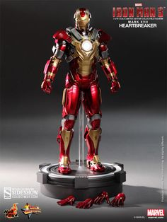 Marvel Iron Man Mark 17: Heartbreaker Sixth Scale Figure by | Sideshow Collectibles