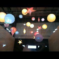 IKEA lights for kids bedroom with multi colored light bulbs-  kids room idea?