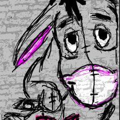 <3 the picture of Eeyore