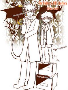 Bilbo Watson Special : Behind the Scene by FlippyFaye