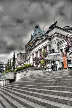Vancouver Art Gallery- free on Tuesday nights from 5 to 9 Vancouver Bc Canada, Vancouver Island, Scenic Photography, Vancouver Photography, Alaska, Vancouver Art Gallery, Canada North, Ontario, Banff National Park