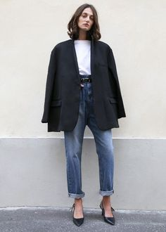 Quelles tendances été 2020 adopter ? Blazer Outfits Casual, Blazer Outfits For Women, Mens Fashion Blazer, Blazers For Men, Black Blazers, Men Blazer, Women's Fashion, Slow Fashion, Grunge Fashion