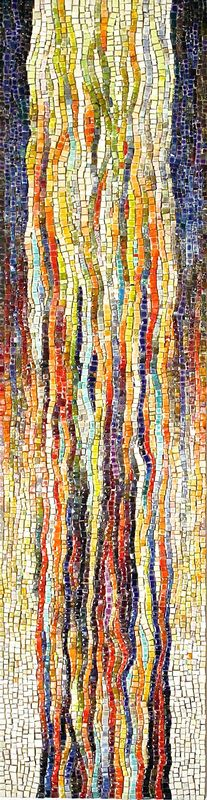 Lynn Peterson Water of Life 6 x 20 tiled panel
