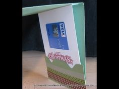 Gift Card Pull out with Envelope Punch Board Video - Frenchie's Stamps