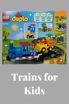 Toys 3 year old boys - Trains for kids - Lego train sets -Train sets kids