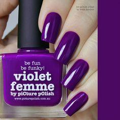 Picture Polish Violet Femme Nail Polish