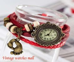 Size foot lovely retro bracelet watch by Vintagewatchesmall, $12.59