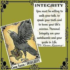 Crow Totem