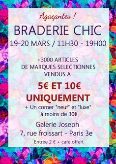 La braderie chic aux prix uniques, Paris (75003), Ile-de-France