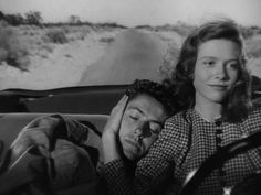 "Farley Granger and Cathy O'Donnell, ""They Live By Night"" (Nicholas Ray, 1949)"