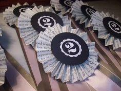 DIY :: Equestrian Ribbon Invitation (Derby Party) or maybe would work as awards for the kiddie horse races