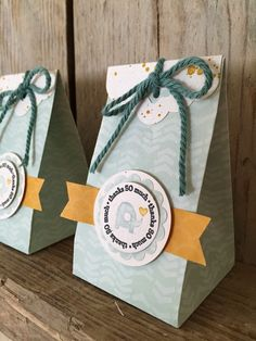 Bij Margriet Creatief, Stampin' Up!, Catalogue, A Fitting Occassion, Scalloped Tag Topper Punch